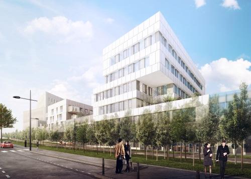KIC-Nacarat - Sirius - Programme de bureaux neufs a Lens sur le pole des Gares