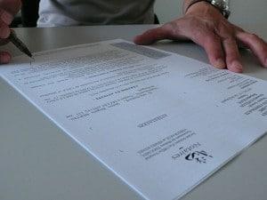 Logement neuf : La signature de l'acte authentique