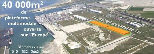 Immobilier d 39 entreprise neuf dunkerque les quais atlantique - Terminal roulier du port ouest f 59279 loon plage dunkerque ...