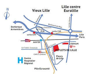 KIC - Reflets de Lille - Plan de situation 300