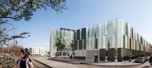 Reflets de Lille - 4000 m2 de bureaux HQE par KIC