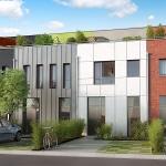 LillO à Lille - Maison neuve T5 - Appartement neuf BBC T1 au T3 au pied du métro Lille CHR