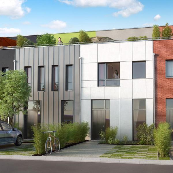 KIC Lille - LillO - Maisons T4 et T5 neuves à Lille