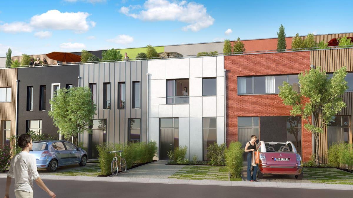 LillO - Maison neuve KIC à Lille