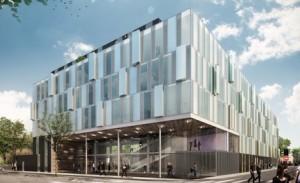 KIC - Reflets de Lille - 2ème bâtiment (6000 m² de bureaux HQE)
