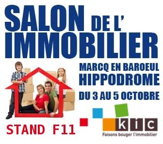 KIC au salon de l'immobilier neuf de Marcq-en-Baroeul 2014