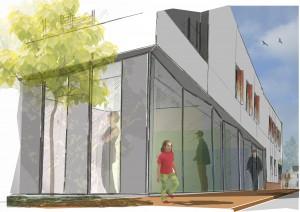 Le nouveau projet KIC : la nouvelle MDS (Maison départementale solidarité) de Leforest