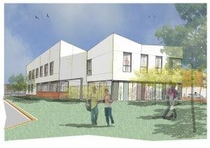 MDS (Maison départementale Solidarité) de Leforest - Une réalisation KIC