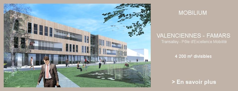 Mobilium – Immobilier d'entreprise à Valenciennes
