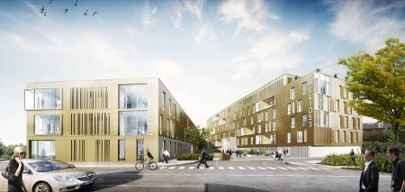 KIC - Villeneuve Ascq 4 Cantons - Immobilier entreprise Helios