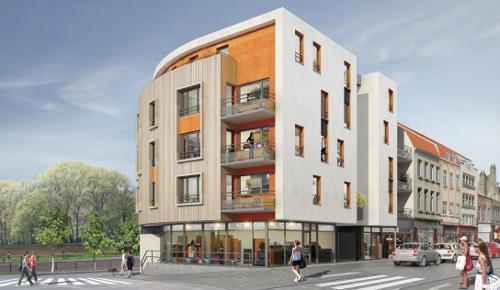 Le Quai -Appartements neufs KIC à Dunkerque Centre