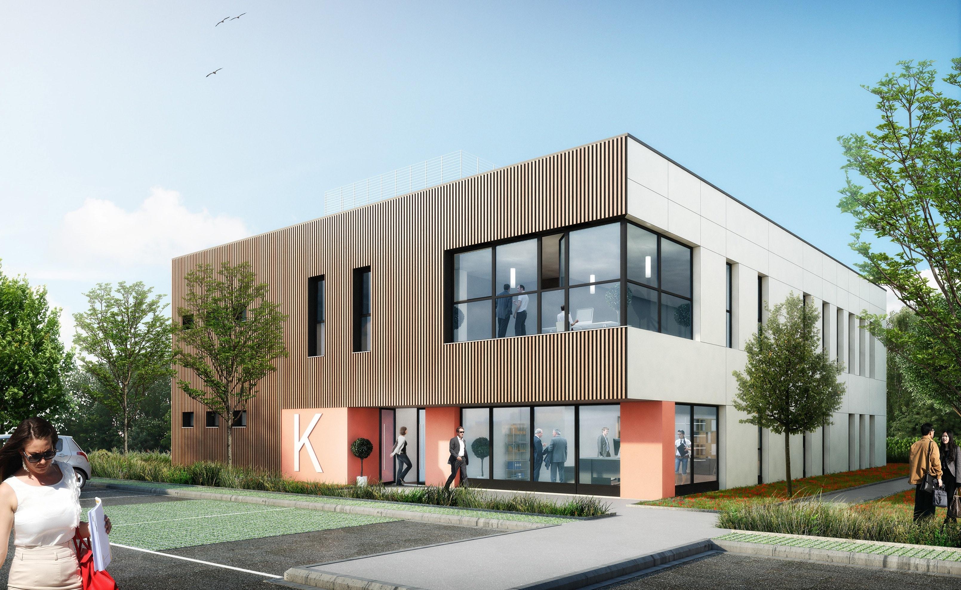 KIC - EcoModulo 600 - Batiment de bureaux HQE de 600 m²