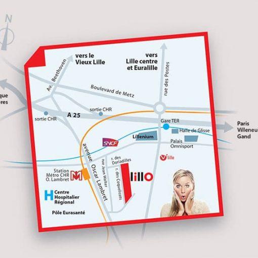 KIC-LillO-Maison neuve Lille-Appartement neuf Lille - Plan de situation