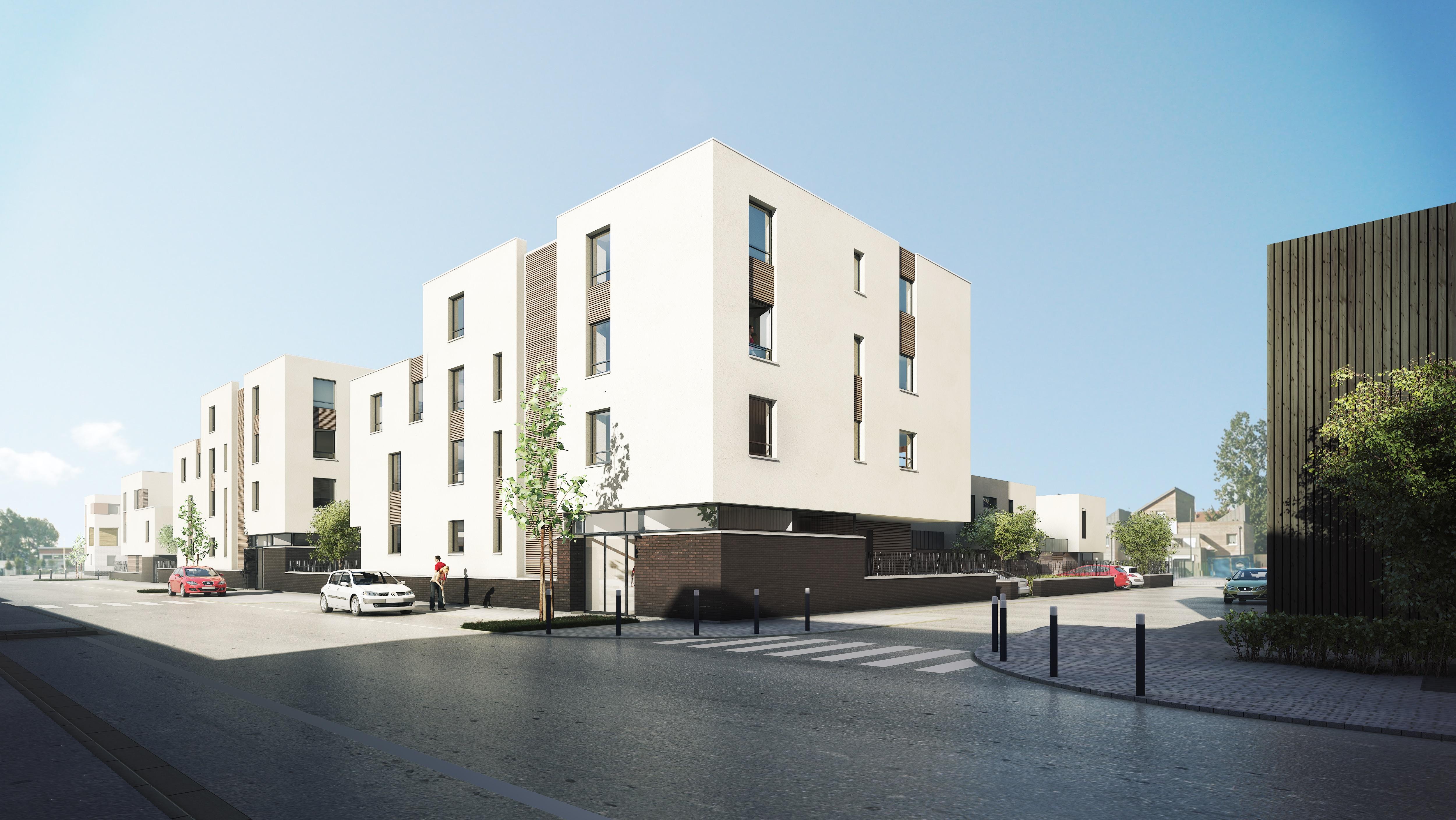 KIC signe un CPI avec la Foncière Logement pour la construction de 29 logements à Dunkerque, rue du Marais