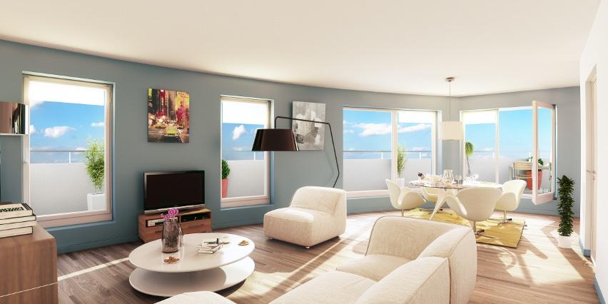 Appartement neuf à Dunkerque-Centre par KIC