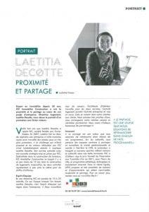Portrait de Laetitia Decotte, directrice logement chez KIC