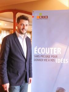 Benjamin Dewast accueille les invités de la Vente Privée Le XII à Roncq