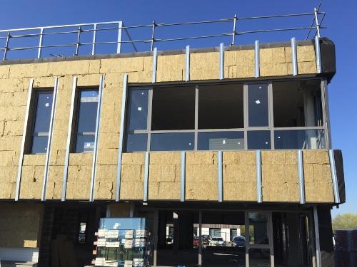 KIC - Immeuble de bureaux sur la HAute Borne à Villeneuve d'Ascq - Travaux - Isolation