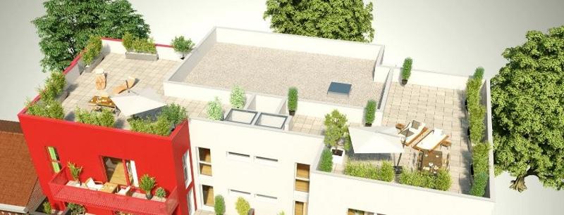 Deux Terasses new-yorkaise 90m2 a Roncq - Programme immobilier neuf Le XII a Roncq
