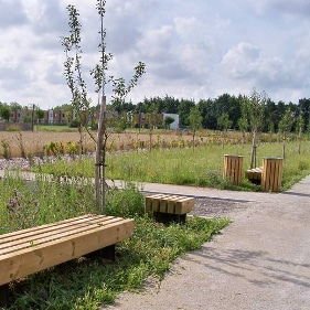 Ecoquartier du Raquet à Douai - Sin-le-Noble, site du programme immobilier neuf Evidence