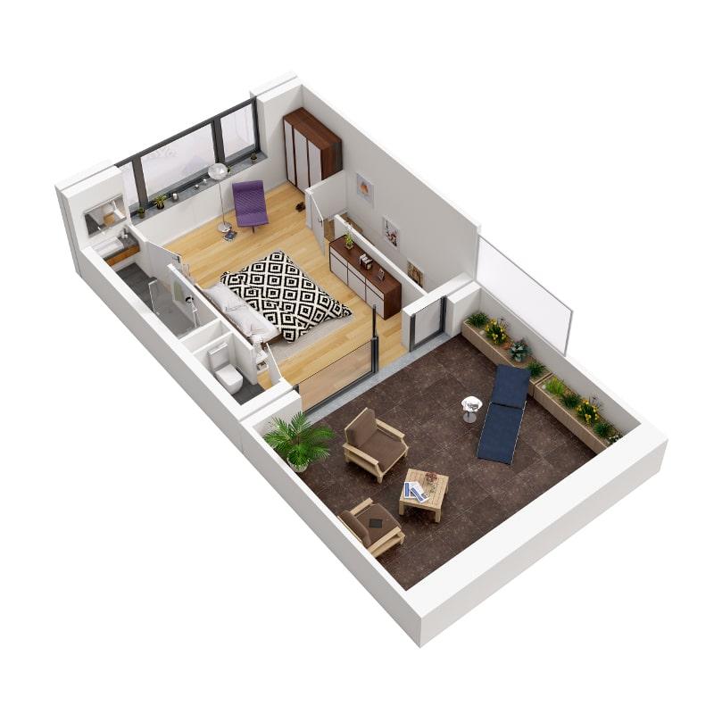 Une Terrasse Au Soleil Kic Immobilier
