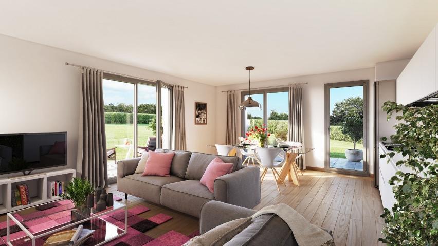 Découvrez lors des journées portes ouvertes à Rueil-Malmaison votre appartement neuf avec jardin à Rueil-Malmaison