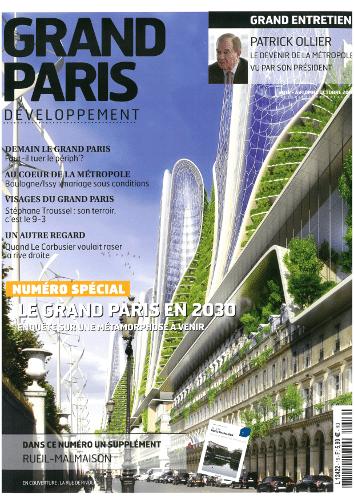 Odette dans le magazine Grand Paris Développement