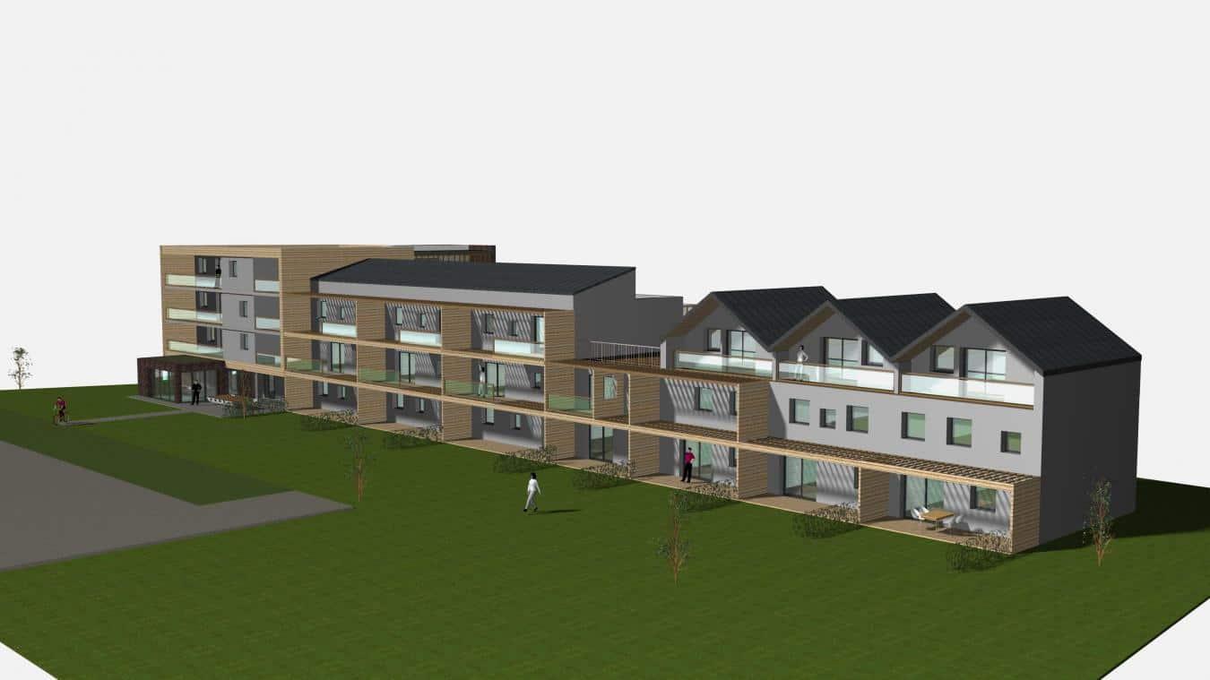 Les 21 logements en habitat participatif du programme immobilier neuf Plurielle