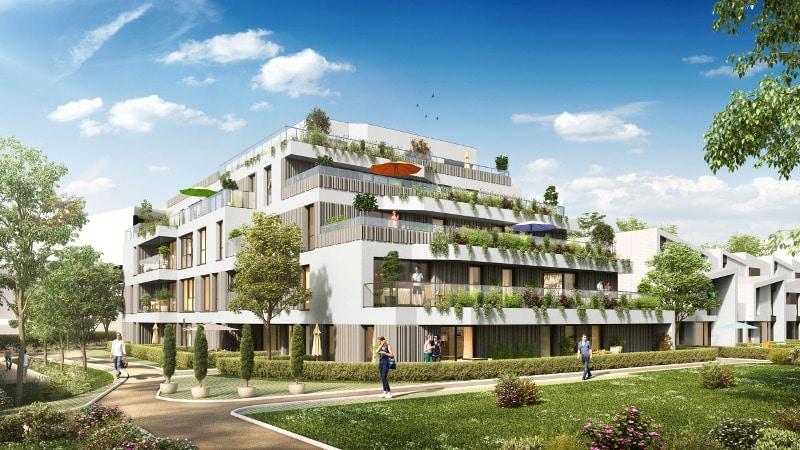 Maia - Programme immobilier neuf à Lille-Lomme - Bâtiment C