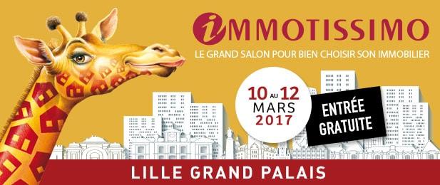 Retrouvez kic sur le salon immotissimo 2017 - Salon immobilier lille ...