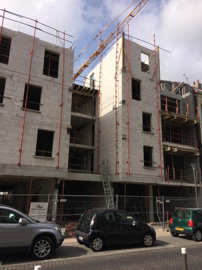 Programme immobilier Dunkerque Le Quai - Travaux avril 2017