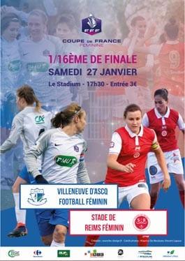 Affiche match VAFF