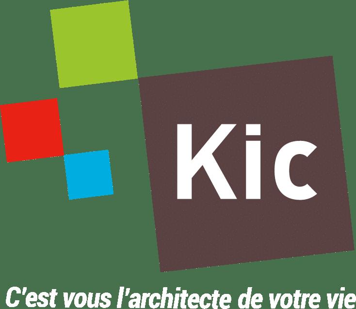 Logo KIC Blanc