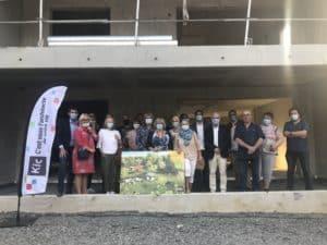 Programme immobilier neuf Linselles OREOM - Visite du chantier