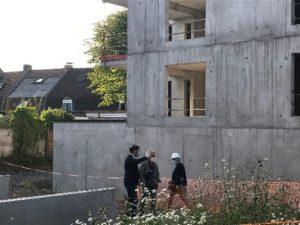 Programme immobilier OREOM - Visite du chantier
