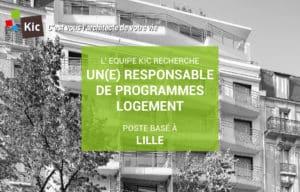 Recrutement Responsable de Programmes immobiliers Logement